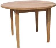 BROOKLYN OAK ROUND DINING TABLE