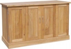 BROOKLYN OAK WIDESCREEN TV CABINET