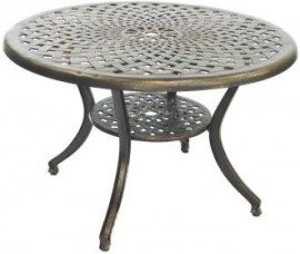 Royalcraft Eclipse Cast Aluminium 120 table