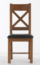Farm House Dining Chair with padded seat