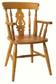 Fiddle Beech Carver Dining Chair