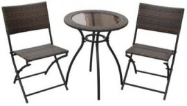 Milano Wicker Bistro Set
