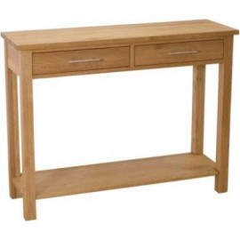 Modern Oak Hall/Console Table