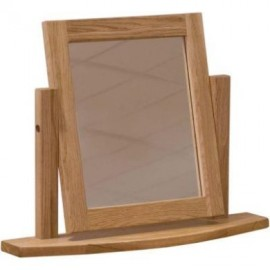 Modern Classic Oak Dressing Table Mirror