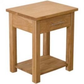 Modern Oak Classic Oak Lamp Table