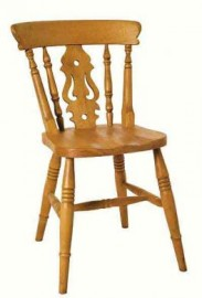 Beech Fiddle Dining Chair