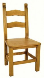 Bretton Beech Dining Chair - Solid seat