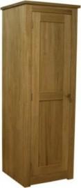 Torino Single Oak Wardrobe