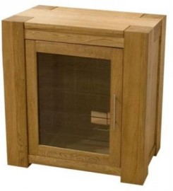 TREND LIFESTYLE OAK HIFI ENTERTAINMENT CABINET