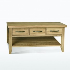 Windsor Coffee table with 3 drawers by Telnita