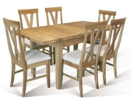 Warwick 1500mm table with 1 leaf by Telnita