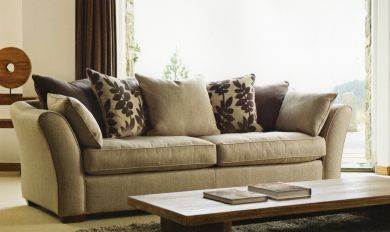 Brooke Large Sofa In Rosetta Fabric