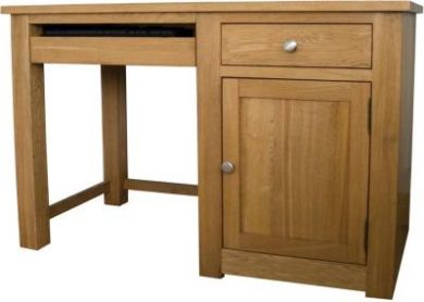 Torino Small Oak Computer Desk