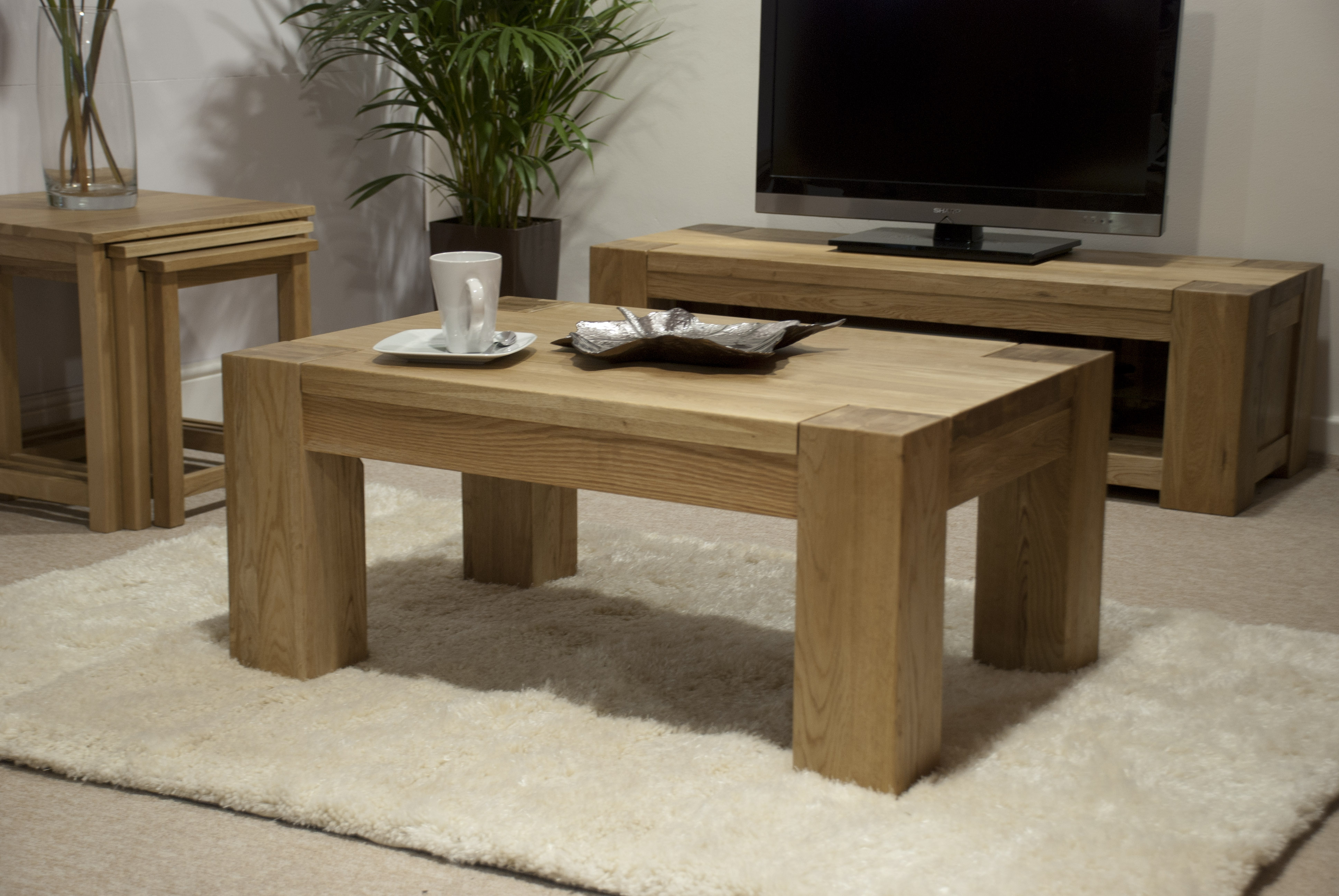 Trend Lifestyle Oak 3 X 2 Coffee Table