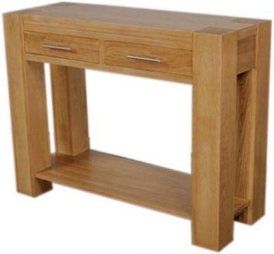 oak hall console table 2